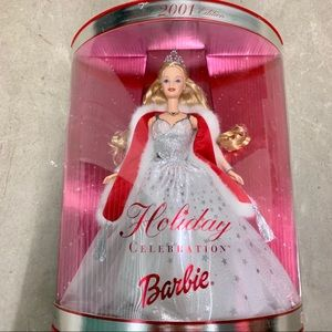 Holiday Celebration Barbie 2001